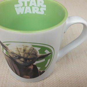 Starwars Yoda Coffee Mug Lime Green Boho